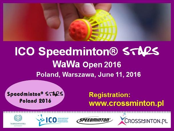 ICO250SpeedmintonSTARSWawa2016plakat